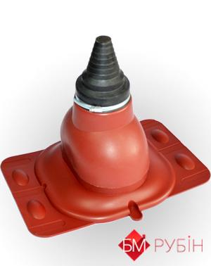 Антенный выход KronoPlast для плоского кровельного покрытия 1