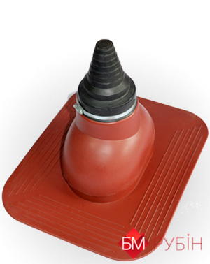 Антенный выход KronoPlast для плоского кровельного покрытия 2