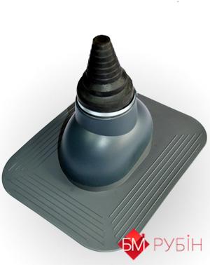 Антенный выход KronoPlast для плоского кровельного покрытия 3