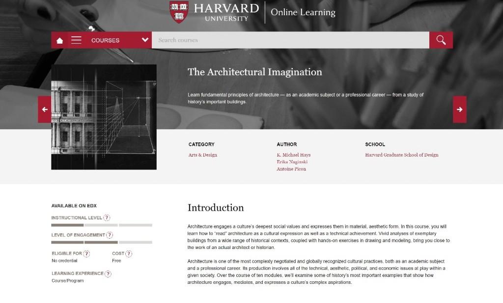 Гарвардський онлайн-курс по архітектурі