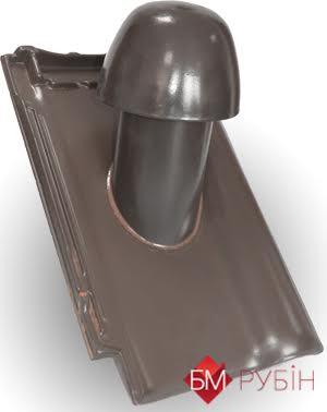 Вентвыход керамический (вид сбоку)