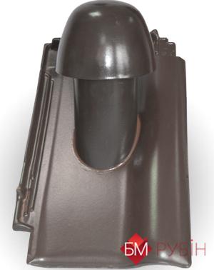 Вентвыход керамический (вид спереди)