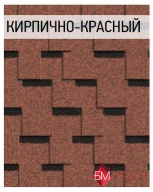 Icopal plano claro фото кирпично-красный