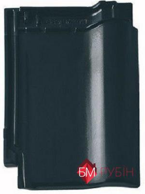 Рубін 9v чорний, глазур, плитка