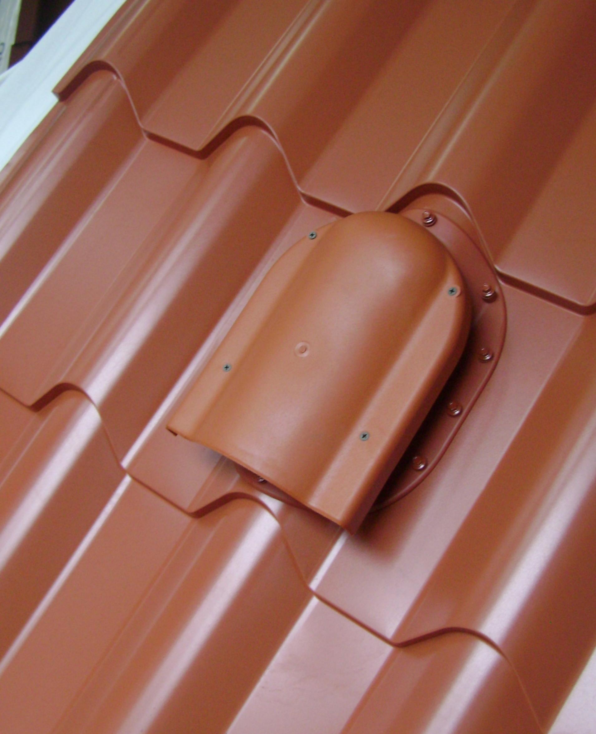 аэратор для крыши из металлочерепицы