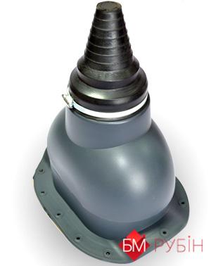 антенний вентвихід сірий