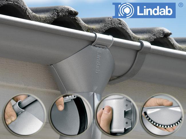 Металлический водосток Lindab
